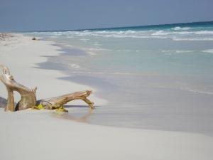 Deserted Tulum Beach